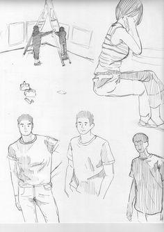 연습 Draw, To Draw, Sketches, Painting, Tekenen, Drawing