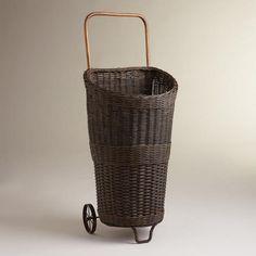One of my favorite discoveries at WorldMarket.com: Matilda Rolling Market Cart