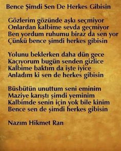 N.ünal Poem Quotes, Best Quotes, Poems, Romantic Love Quotes, Meaningful Words, Karma, Quotations, Literature, Wisdom