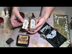 Pretty Potions & Poisons Apothecary Event Tutorial #2 - Altering Bottles & Tins (Part One of Two) - YouTube