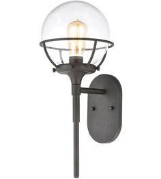 ELK 57289/1 Girard 1 Light 19 inch Charcoal Outdoor Sconce Outdoor Wall Lantern, Outdoor Wall Sconce, Outdoor Wall Lighting, Outdoor Walls, Front Door Lighting, Elk Lighting, Sconce Lighting, Craftsman Lighting, Coach Lights