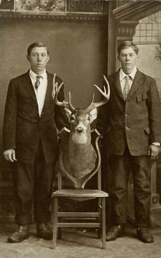 """ca. 1895, """"Carl and Roy Linnell"""", Charles Van Schaick  via the Wisconsin Historical Society, Charles Van Schaick Photographs and..."""