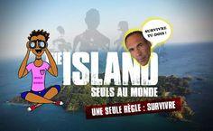 TÉLÉVISION : The Island, l'émission de survie de retour ! Check out my last article on my blog ! #Theisland #Theisland2 #Frenchtv #TV #illustration #island #adventure #survivor