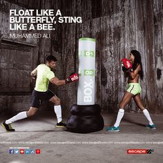 Float like a butterfly, sting like a bee.  #fitnessmotivation #fitness #healthy #fitfam #fighter #dedicate