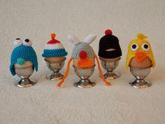 Gratis patroon eierwarmers / free pattern egg cosies