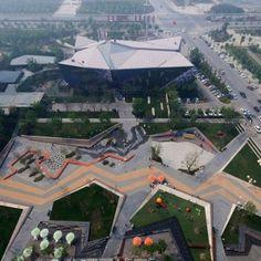 Zhengzhou Vanke Central Plaza by Locus Associates