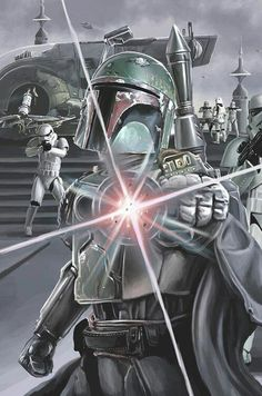 Boba /by ?? #StarWars #art