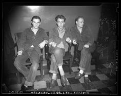 Title:	Three male juveniles arrested for burglary and assault crime ring in 1941, Los Angeles, Calif. Publication:	Los Angeles Daily News Publication date:	February 14, 1941