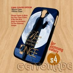 Once Upon a Time - Print On Hard Case Samsung Galaxy S4 i9500 Plastic   GetToMade - Accessories on ArtFire