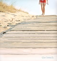 so many great memories walking down the boardwalk to the beach :)
