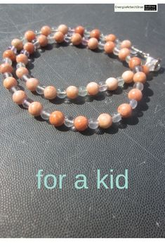 *fürsKind* BARYT FLUORIT KETTE * Baryte Fluorite Necklace for a kid * Beaded Bracelets, Necklaces, Children, Kids, Ebay, Jewelry, Green Earrings, Rhinestones, Silver