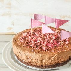 No Bake Mocha Peppermint Cheesecake