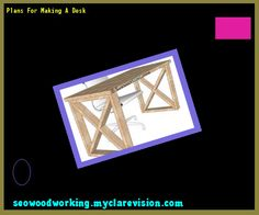 Plans For Making A Desk 095209 - Woodworking Plans and Projects!