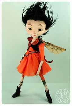 Clara, Punk Fairy by the Filigree by theFiligree, Celena & Martin, via Flickr