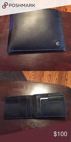 Men's Esquire Black Leather Wallet Brand new men's leather wallet. Built in shield that blocks RFID credit card scanners Esquire Bags Wallets
