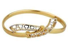 "Greek Meander Pattern Cuff Bracelet AMR Collection. $29.50. Greek Meander Pattern Cuff Bracelet in Two-Tone color.; It measures  7mm= 0.27""- 59mm=2.32"" Diameter.; Greek Meander Pattern Cuff Bracelet; 18K Gold Plating."