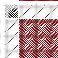 draft image: 12050, 2500 Armature - Intreccio Per Tessuti Di Lana, Cotone, Rayon, Seta - Eugenio Poma, 12S, 12T