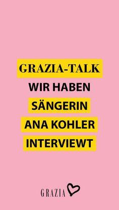 """Wir haben Sängerin und Model Ana Kohler zum großen GRAZIA Interview getroffen und mehr über ihre neue Single """"Karma is a Bitch"""", ihre Inspiration und liebsten Beauty-Produkte gesprochen… #grazia #grazia_magazin #interview #grazia_interview #talk #graziatalk #sängerin #anakohler"""
