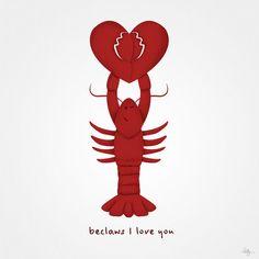 Lobster winky face ;-)
