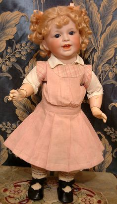 "18"" RARE SFBJ 236 Laughing Jumeau Toddler Adorable Antique Doll $1NR So Sweet 