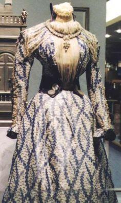 Lavendel kleurige japon van Sissi.  Empress Sissi of Austria