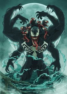 Venom by Tavo Montañez - Visit to grab an amazing super hero shirt now on sale