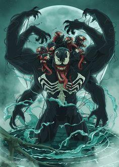 Venom by Tavo Montañez - Visit to grab an amazing super hero shirt now on sale