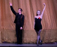 NYCB Andrew Veyette and Sara Mearns; curtain call