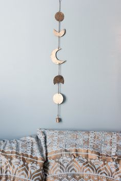 Bring the Moon's Magic into your Home Dedicated to the Moon Child who dreams more often than she sleeps The phases of the moon symbolize immortality and eternity. She represents emotion of the mind, b