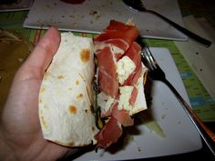 "22. Piadina Perfection in Rimini - ""25 Best Food Experiences in Emilia-Romagna, Italy"" by @Kate Mazur McCulley"