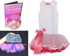 Learn to make a tutu dress or jean tutu skirt