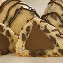 Kisses Chocolate Chip Cookies - A fun twist on the traditional chocolate chip cookie that's sure to delight.