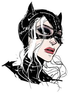anniewu: I think about Michelle Pfeiffer's Catwoman make-up maybe two? three? times an hour.