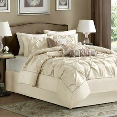 Ivory Tufted Bedding