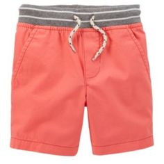 The elastic waistband makes these woven boys' shorts from Carter's supercomfortable. Carters Baby Boys, Toddler Boys, Kids Boys, Toddler Outfits, Kids Outfits, Baby Boy Bottoms, Baby Boy Accessories, Clothing Accessories, Carter Kids