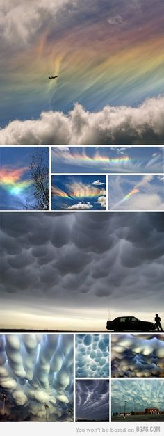 Clouds like you've never seen!