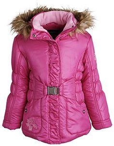 Rothschild Little Girls Down Alternative Fleece Winter Puffer Bubble Jacket Coat * Read review @