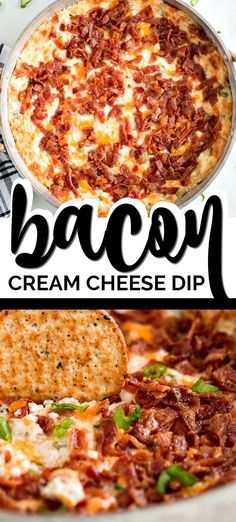 I stole this bacon cheddar cream cheese dip recipe from my sister in law. She fi… I stole this bacon cheddar cream cheese dip recipe from my sister in law. She first made this hot cream cheese dip for us last Christmas. From the time she pulled it out of Bacon Cream Cheese Dip, Bacon Dip, Bacon Cheese Dips, Cream Cheese Crackers Recipe, Dip For Crackers, Appetizers With Cream Cheese, Cheese Chips, Nacho Cheese, Appetizer Dips