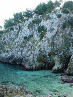 the Adriatic coast near Lecce, Southern italy
