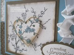 Challenge Thursday SSC #036 Easter Blossoms by imamuttnut - Cards and Paper Crafts at Splitcoaststampers