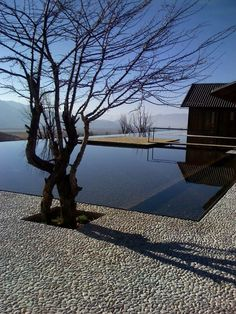 .Simple yet elegant out door pool, with an amazing view!