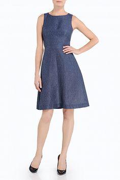 #Mackage WCNL-D110 a-line dress in Blue