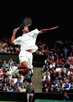 pete sampras smash - Google Search
