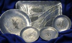 Vintage Hammered Aluminum Collection by by TheBarnatBelMarFarm, $28.00