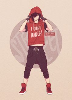 DANCE MAJORS AU. Hip-Hop dancer Keith