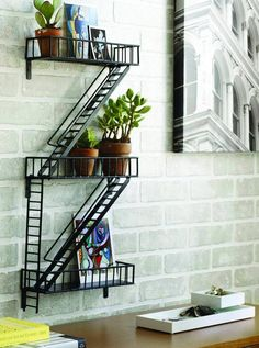FireEscape Shelf - Design Ideas - $99.99 - domino.com