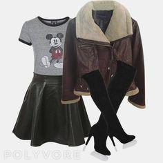 Combinando tendencias de esta temporada se puede conseguir un estilo moderno y con personalidad como este!  Top de @Topshopspain Falda de @Apricot_cr Chaqueta de @Tradesy Botas de @Silkfred  Podéis comprarlo todo desde @polyvore Besitos de...la reina del glamour  #moda #fashion #instafashion #fashionista #instafashionistas #moda2016 #fashionigers #modagram #igers #modagrammers #fashionable #glamour #estilo #fashiondiaries #chic #tendencias #polyvore #polyvoreoutfits #outfit #outfits #ootd…