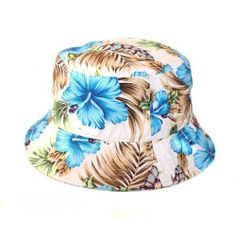 Dream But Do Not Sleep Blue Tropical Bucket Hat. Buy @ http://thehubmarketplace.com/index.php?route=product/productproduct_id=1223