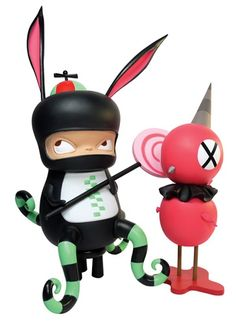 MINDstyle will drop their SDCC exclusive Benny and Red Bird Cool Edition by Kathie Olivas