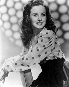 Jeanne Crain (May 25, 1925 – December 14, 2003) American actress.